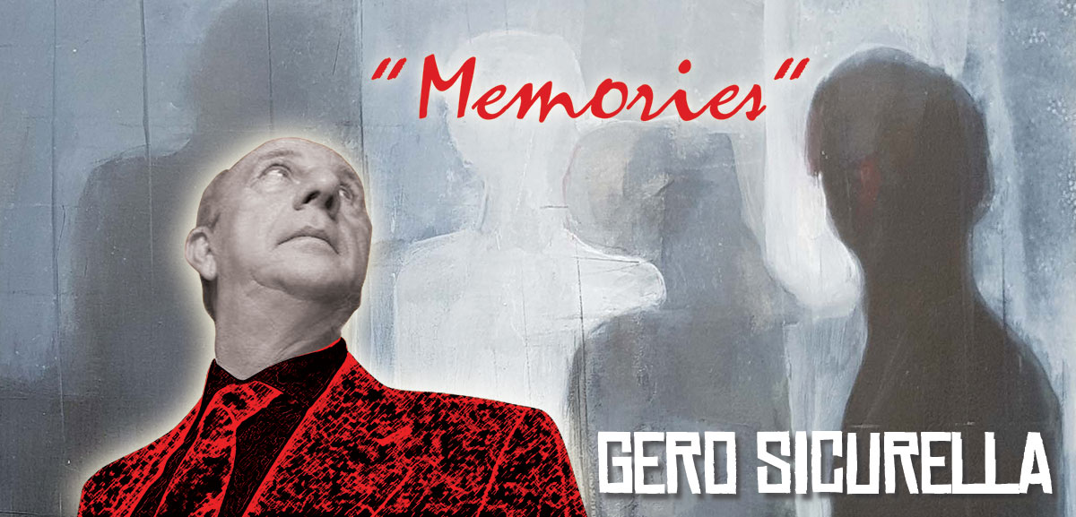 Gero Sicurella - Memories, cartolina 4ARTS Gallery